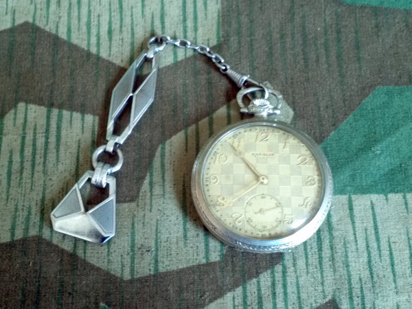 Vintage Natalis Swiss / Czech Pocket Watch 1931