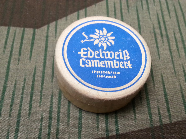 Vintage Small German Edelweiss Camembert Cheese Container