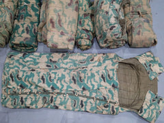 Vintage Sumpftarn Czech Camo Sleeping Bags AS-IS