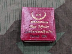 Vintage WWII German Modenhaus Max Schmidt Advertising Notebook w Pencil