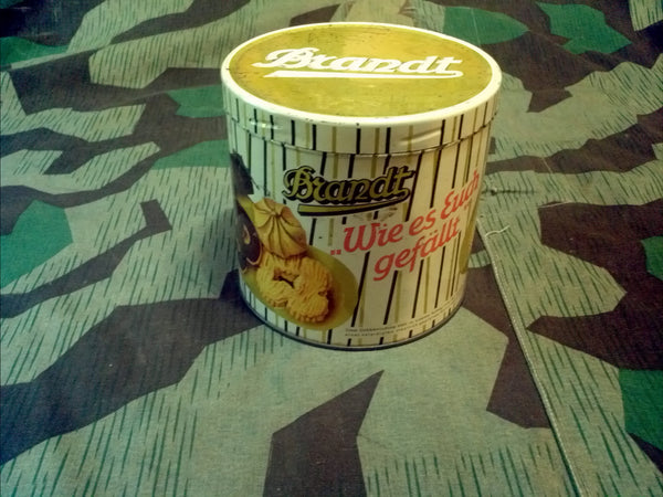 Vintage WWII-era German Brandt Cookie Tin