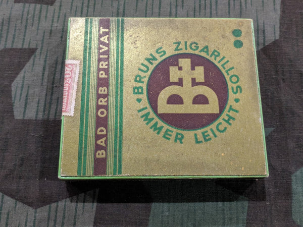 Vintage WWII-era German Bruns Zigarillos Cigarillos Box