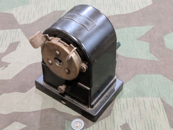 Vintage WWII-era German Faber Castell Bakelite Pencil Sharpener
