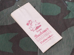 Vintage WWII-era German Metzgerei Meat Bags Rations