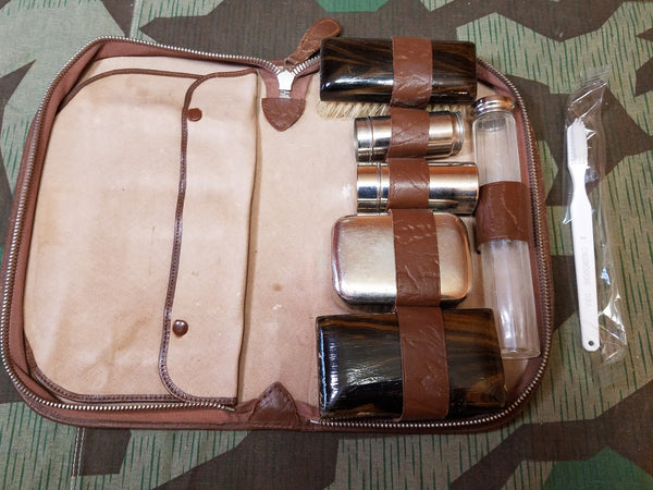 Vintage WWII-era German Travelling Hygiene / Shaving Kit