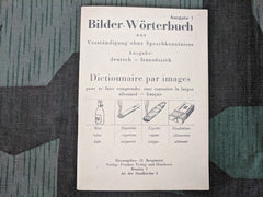 Vintage WWII-era Picture Dictionary German-French