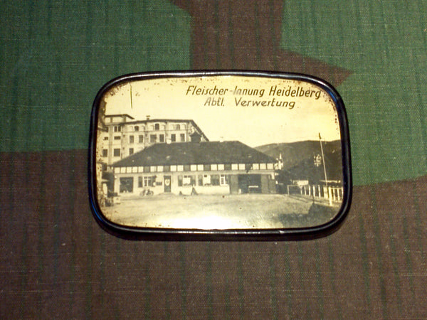 Vintage WWII 1930s/1940s German Pocket Mirror Advertsing