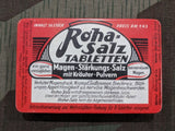 Vintage WWII 1930s / 1940s German Roha Salz Tabletten Tin