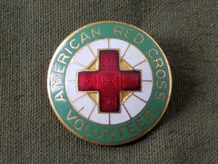 Vintage WWII American Red Cross Motor Corps Pin (ARC)