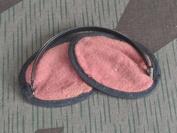 Vintage WWII German Earmuffs -Wehrmacht Issue