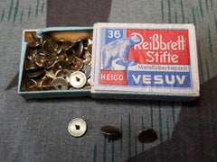 Vintage WWII German Vesuv Thumb Tacks