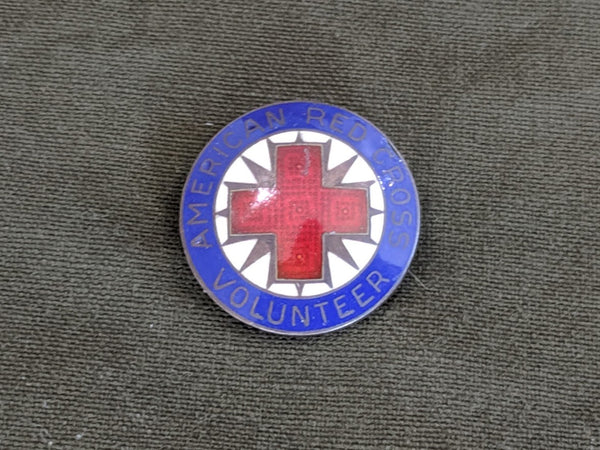 Vintage WWII Red Cross Production Corps Pin