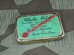 Original German Rheila Drops Tin