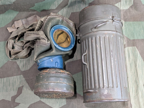 Gas Mask and Canister 1938