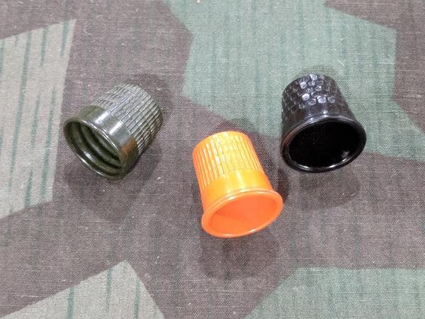 "Colorful Bakelite Thimbles ""Finger Hats"""