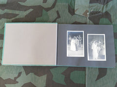 German Soldier's Wedding Photo Album