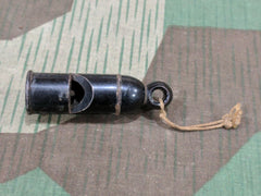 WWII-era German Bakelite NCO's Whistle