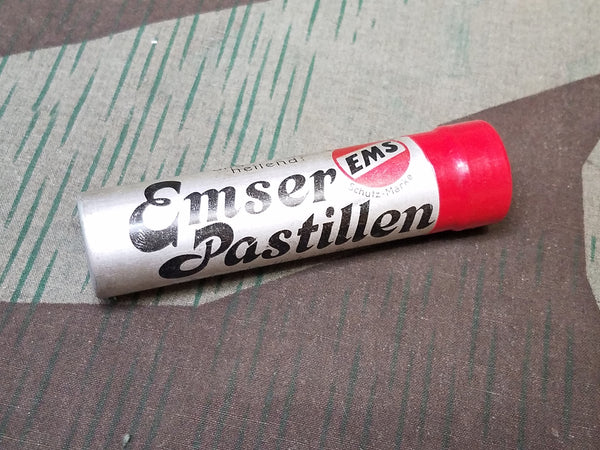 WWII-era German Emser Pastillen Pill Container