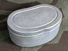 WWII-era German Large Deep Bread / Sandwich Tin