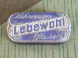 WWII-era German Lebewohl Foot Bandage Tin (as-is)