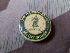 WWII-era German Schorndorfer Weiber Peppermint Tin