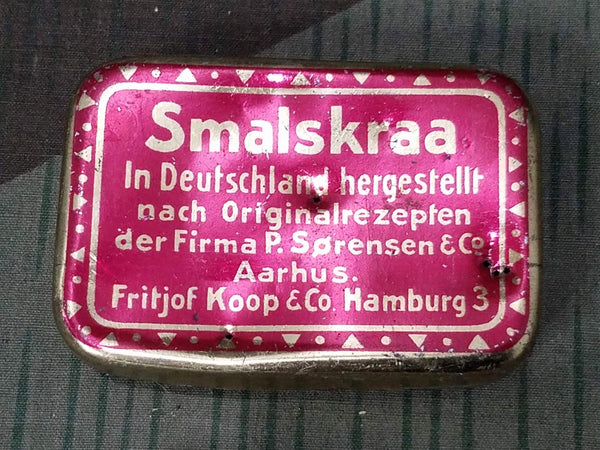 WWII-era German Smalskraa Chewing Tobacco Tin