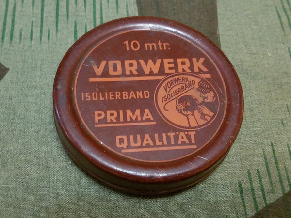 WWII-era German Vorwerk Tape Tin 10 Meter