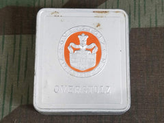 WWII German HN Overstolz 10 Cigarette Tin