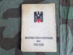 WWII German Red Cross DRK Erste Hilfe First Aid Book 1942