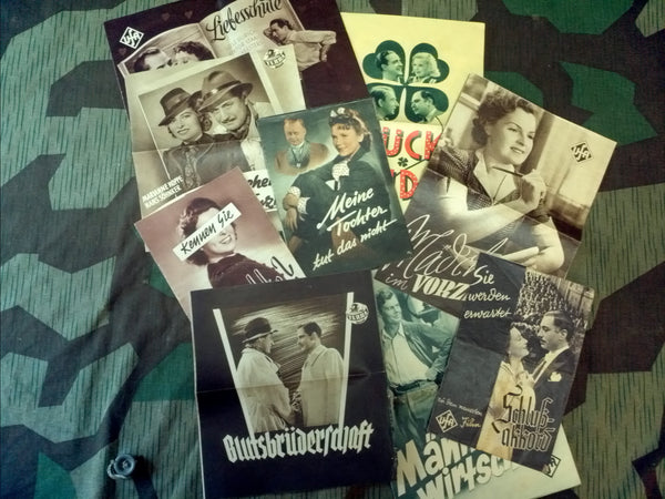 WWII 1930s / 1940s German Film Booklets