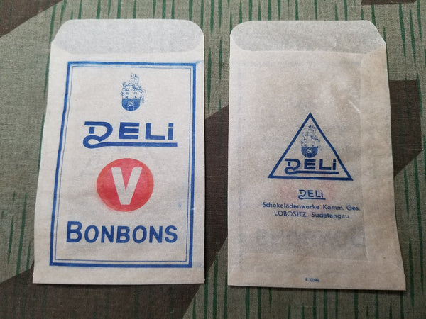 WWII 1930s 1940s Vintage German Deli Vitamin Bonbons Packaging