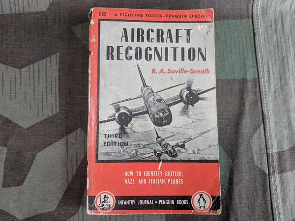 WWII 1943 Aircraft Recognition Book  R.A. Saville-Sneath