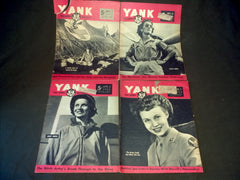 WWII 4 Yank Magazines - Featuring Nurses and WACs