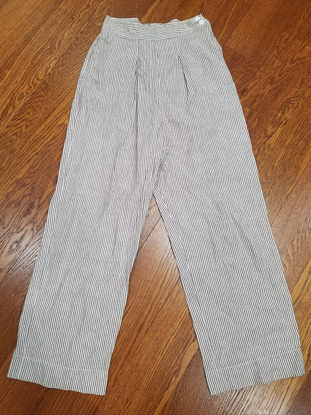 WWII ANC Army Nurse Seersucker Trousers Pants US Women's Uniform