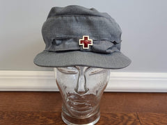 WWII American Red Cross ARC Summer Service Hat Uniform Cap