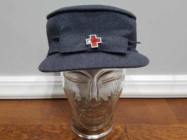 WWII American Red Cross ARC Winter Service Hat Uniform