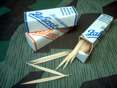 WWII German 1930s / 1940s Toothpicks - New Old Stock