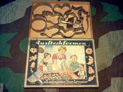 WWII German 1930s Cookie Cutter Set