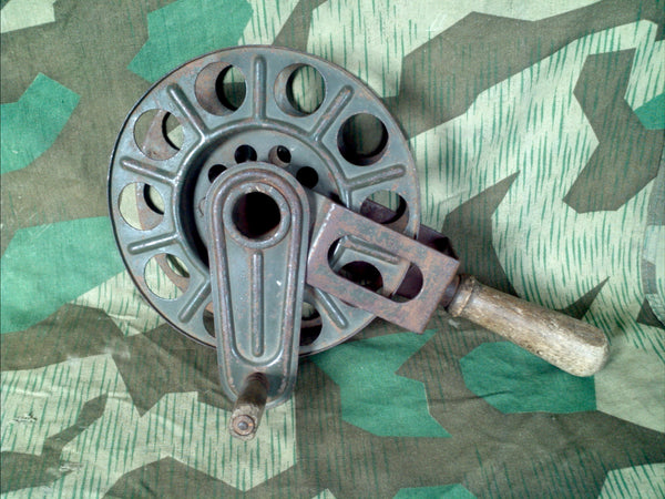 WWII German 1936 Hand Cable Reel