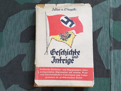 "WWII German 1940 Julius v. Stepski ""Geschichte und Intrige"" Book"
