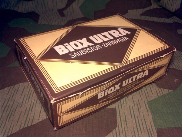 WWII German Biox Ultra Toothpaste Box