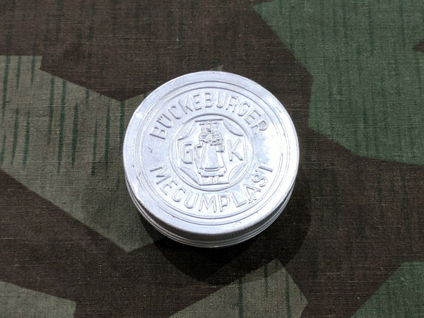 WWII German Bückeburger Mecumplast Bandage / Medical Tape Tin
