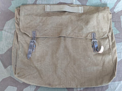 Original WWII German Clothing Bag w/ Captured British Webbing