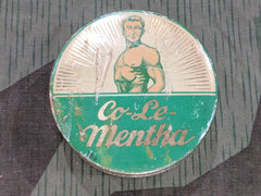 WWII German Co-Le Mentha Supplement Tin
