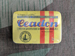 WWII German D.R.P. Ceadon Laxative Tin