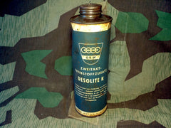 WWII German DKW 2 Stroke Oil Can Desolite K Motorcycle