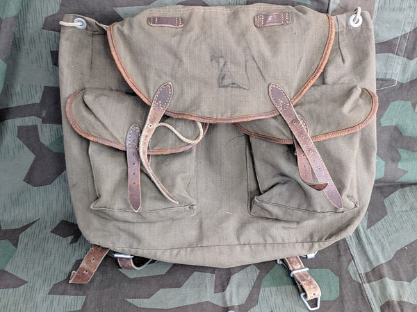 WWII German DRP Tauern Early Gebirgsjager Rucksack 1939