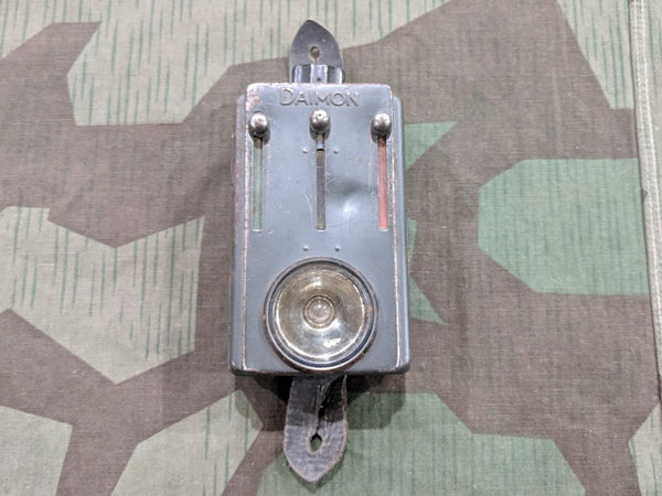 WWII German Daimon Gray Army Flashlight