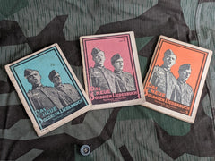 WWII German Das Neue Soldaten Liederbuch Soldier's Song Books Set of 3