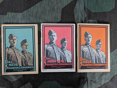 WWII German Das Neue Soldaten Liederbuch Song Book Set